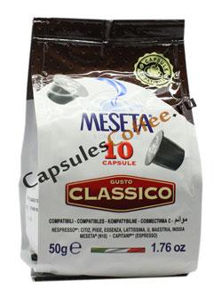Кофе Meseta в капсулах Nespresso Classico