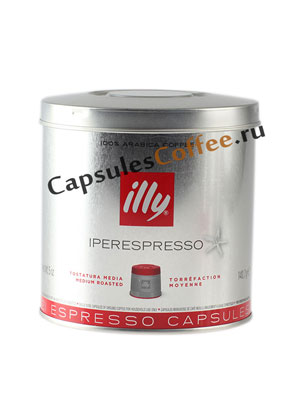 Кофе Illy в капсулах Iperespresso Medium
