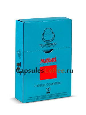 Кофе Musetti в капсулах Decaffeinated